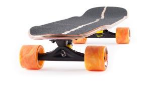 Landyachtz Dinghy Beast Wreck Mini Cruiser Longboard Skateboard Angle-grip