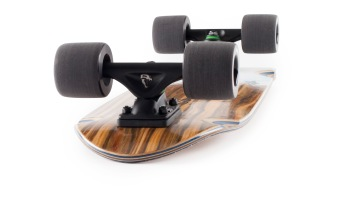 Landyachtz Dinghy Summer Mini Cruiser Longboard Skateboard Angle-face